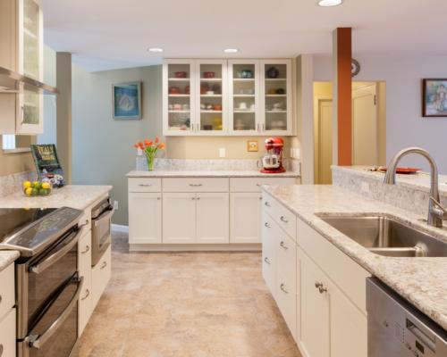 New open galley kitchen
