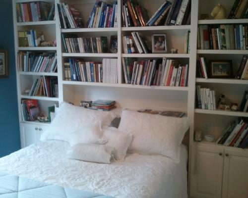 The master bedroom pre-remodel