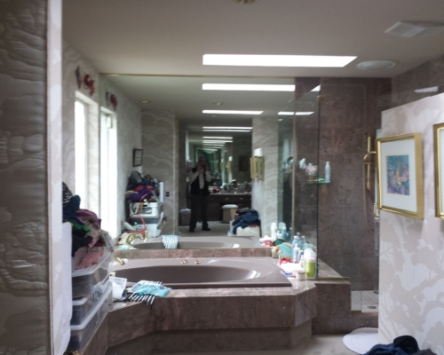 The Bathroom Before Remodel