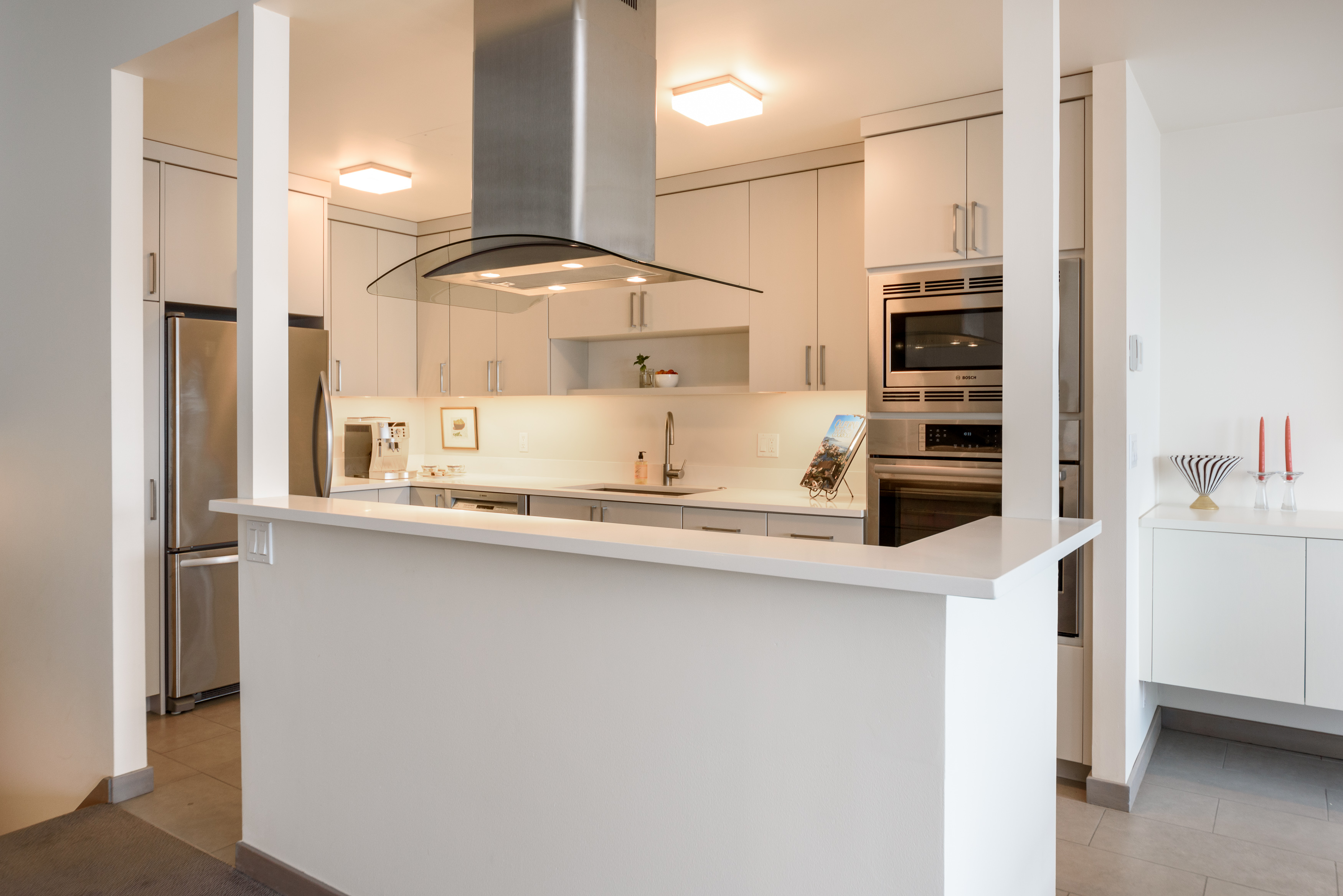 Two Views of the Same Seattle Kitchen Remodel McAdams Remodeling