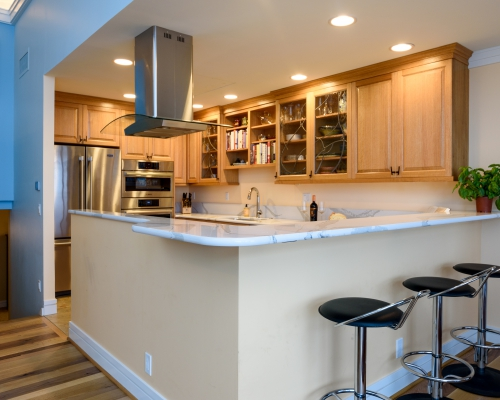 Traditional Kitchen After