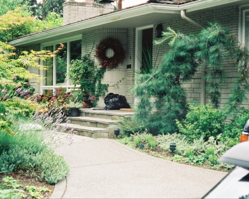 The Front Entry Before