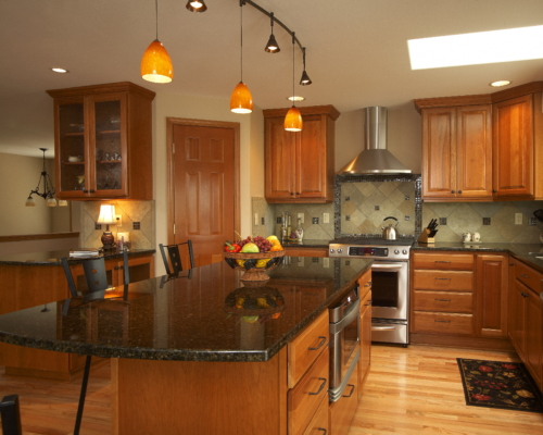 The New Kitchen With Business Center