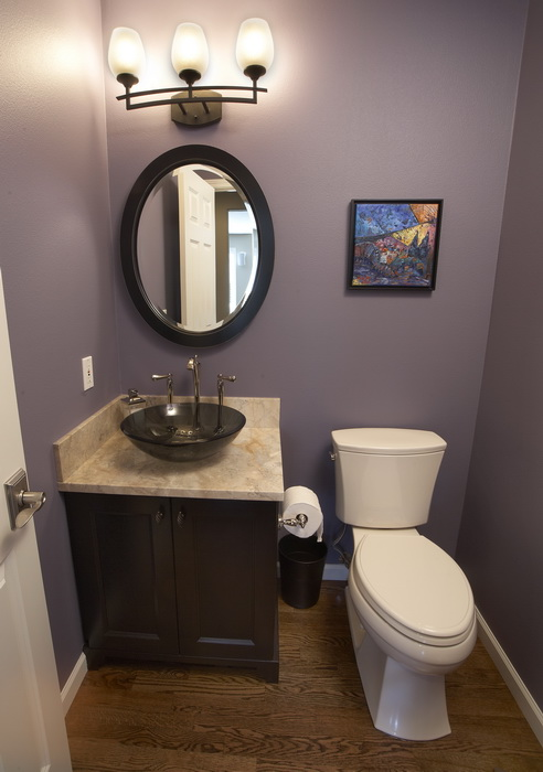 The Newly Remodeled Bathroom
