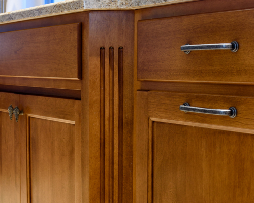 Beautiful cabinet details