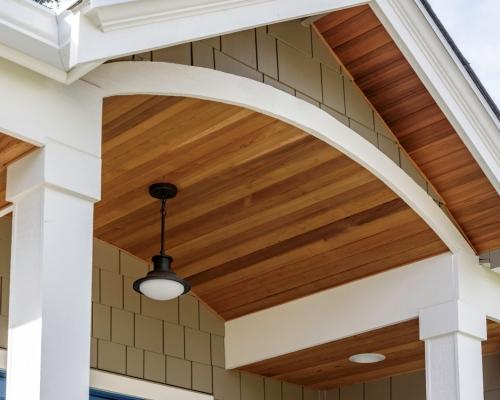 Beautiful porch details