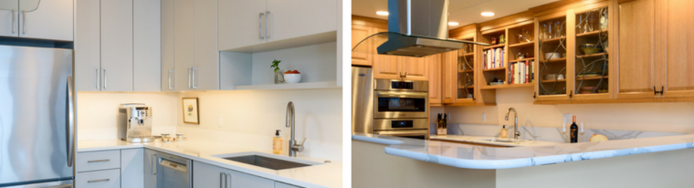 Home » Kitchens » Two Views Of The Same Seattle Kitchen Remodel