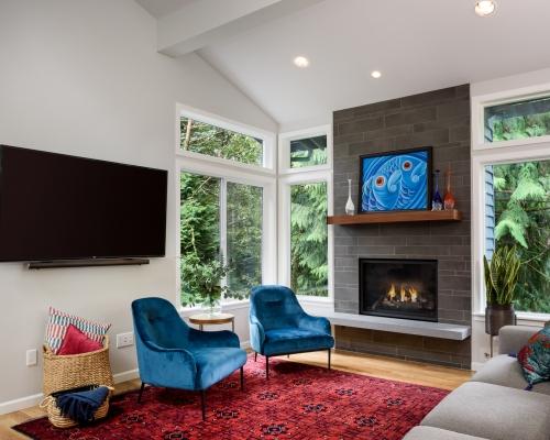 Post-remodel family room